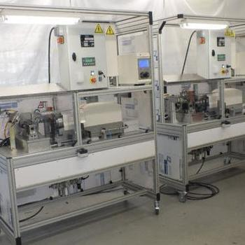 7 Tech - Deaux - Achievements - Ultrasonic and friction welding stations